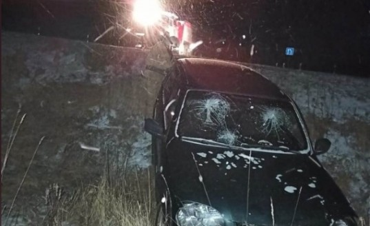 В селе Волконское водитель Chevrolet Niva вылетел в кювет
