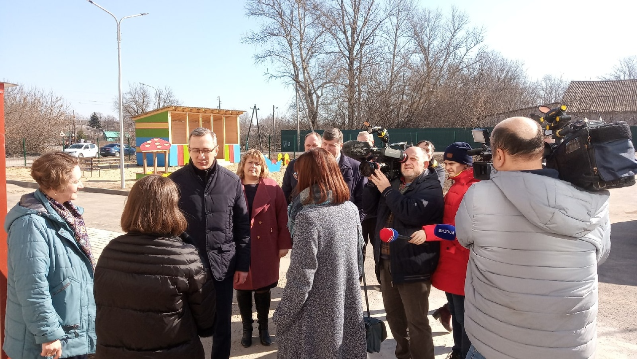 Руководитель области Владислав Шапша посетил новый детский сад в Козельске