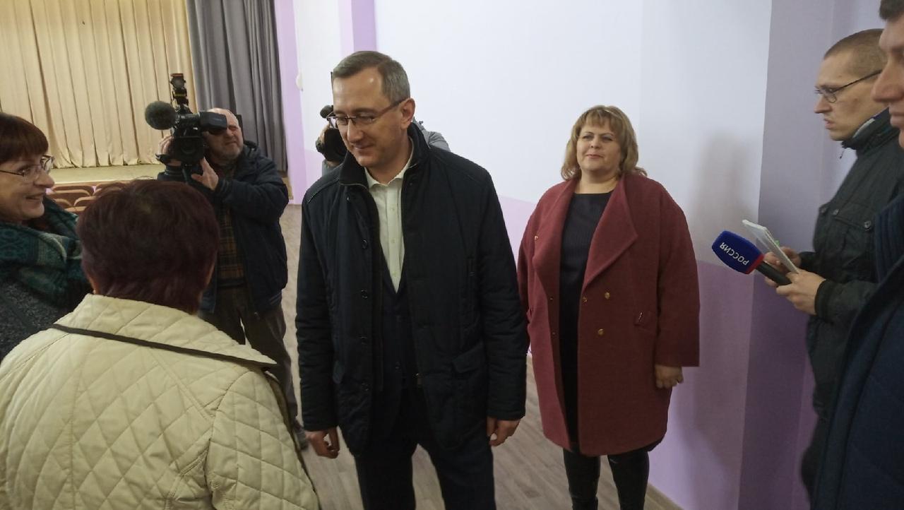 С рабочим визитом в Козельский район приехал глава региона Владислав Шапша