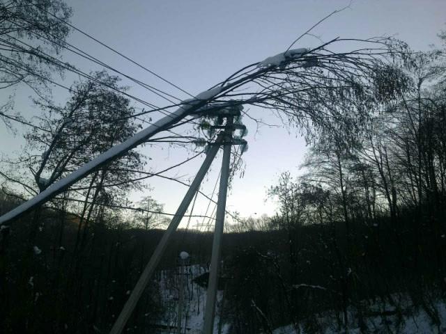 На целый день без электроснабжения остались в минувшее воскресенье до 10 сел района