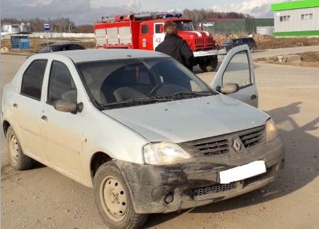 В Козельске произошла автомобильная авария с участием двух детей