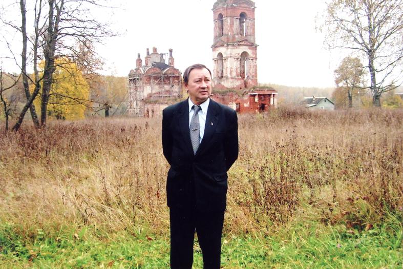 К юбилею писателя и журналиста Владимира Ильина. Наш капитан Борисыч