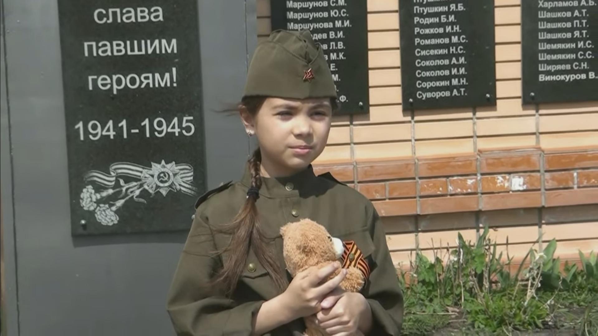 Победный марафон. Дети села Березичский стеклозавод прочитали стихи о войне. ВИДЕО