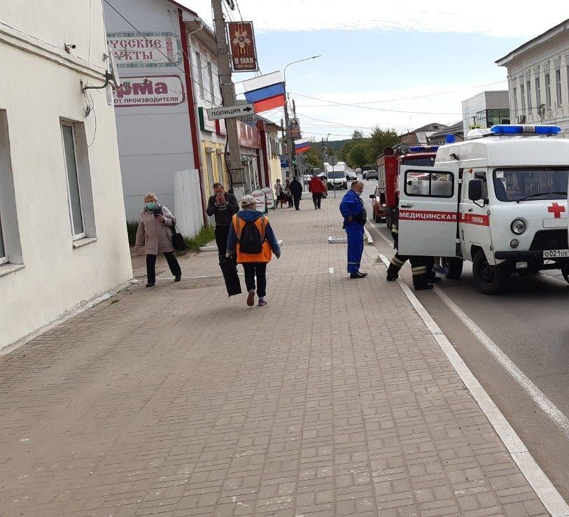Стали известны подробности сегодняшнего ДТП в центре Козельска