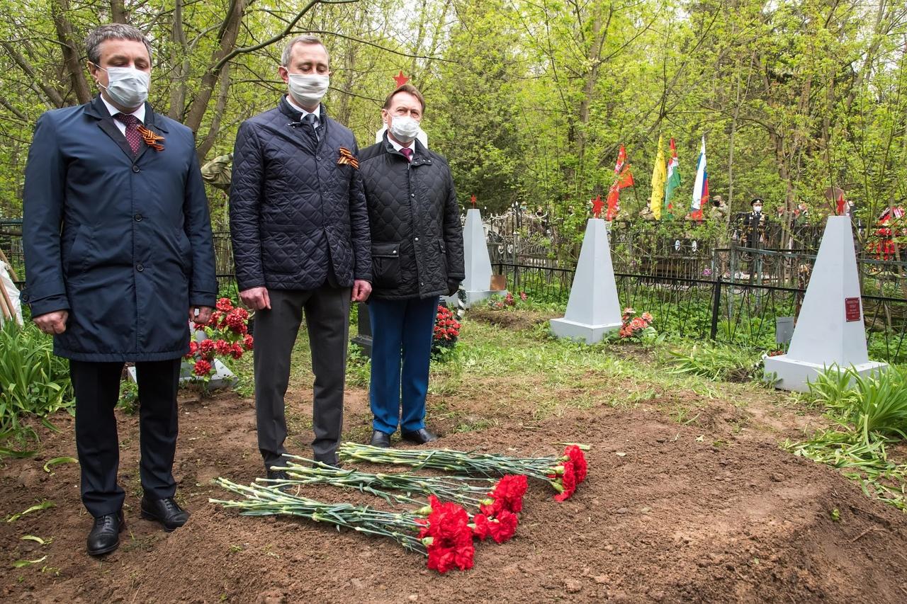 Владислав Шапша почтил память воинов-освободителей