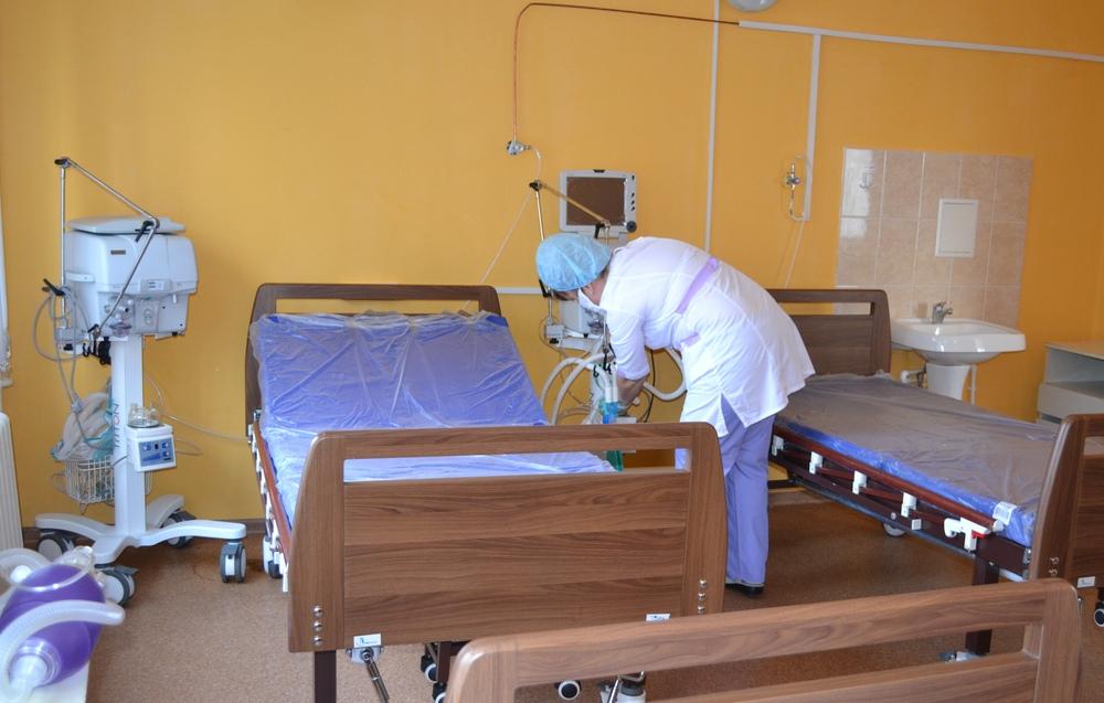 В области общее число коек для коронавирусных больных составит более 2 000