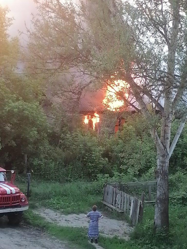 За минувшие 3 дня в Козельском районе сгорело 2 строения
