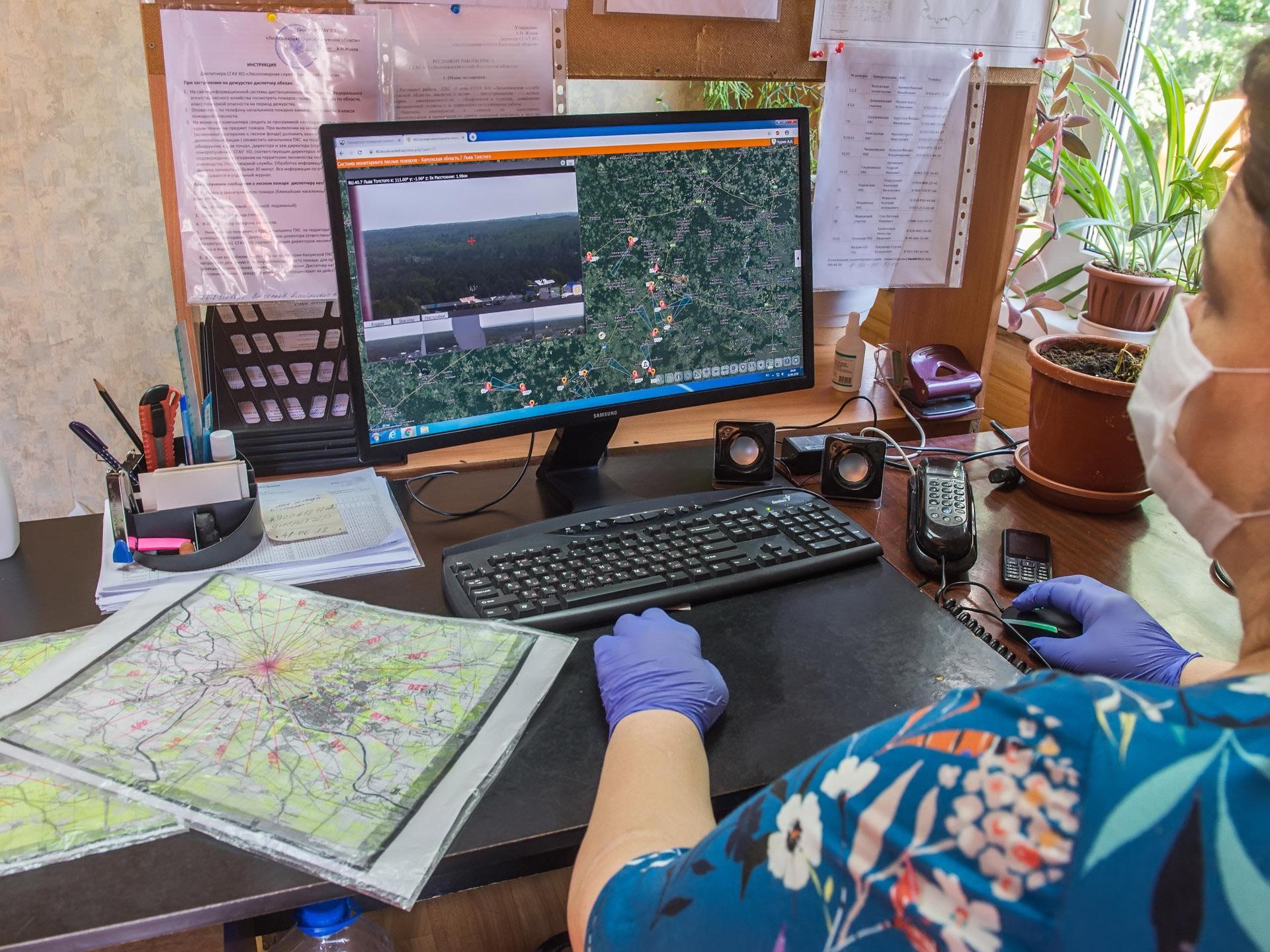 Калужские леса оснастят комплексами видеомониторинга