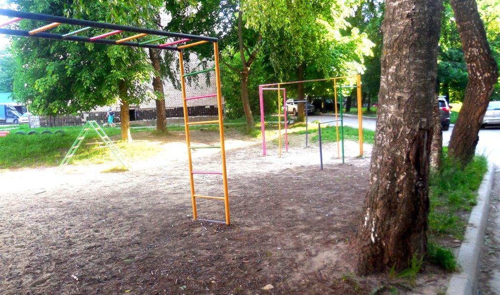 Жители дома 38 по улице Гвардейской просят не лишать их детской площадки