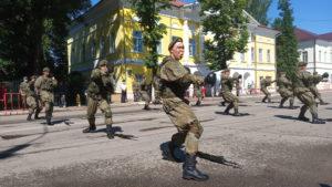 40 минут, которые попадут в историю. В Козельске прошел Парад Победы. Подробный репортаж, фото и видео