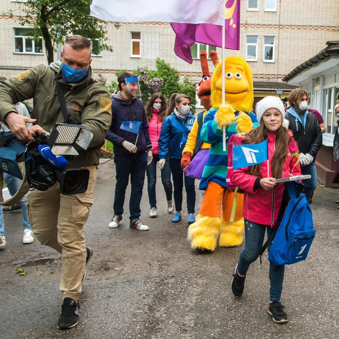 Глава региона Владислав Шапша принял участие в благотворительной акции Первого канала