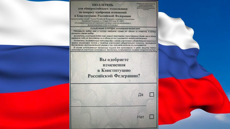 Поправки в Конституцию: как и где голосовать козельчанам