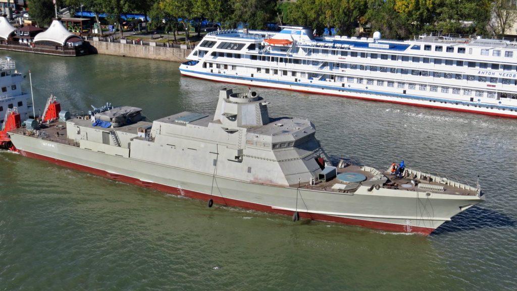 """Где служить морякам из Козельска - конечно, на корвете """"Козельск"""""""