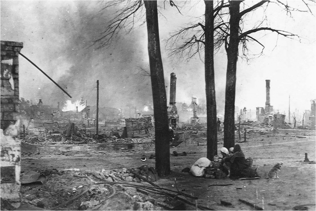 «Случилось прямое попадание бомбы в наш дом, и нас засыпало». Воспоминания козельчанки, пережившей оккупацию