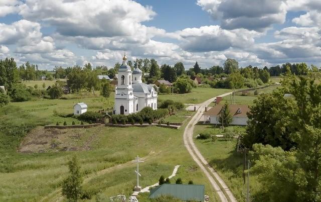 Храм в Ильинском