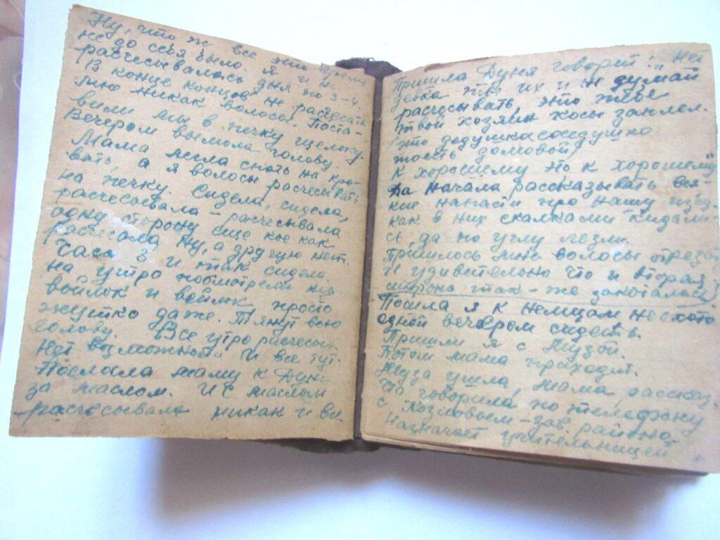 """""""Живу голодом. Мечта об ужине: может, подфартит?"""" Еще несколько страниц из дневника Нины Соловьевой"""