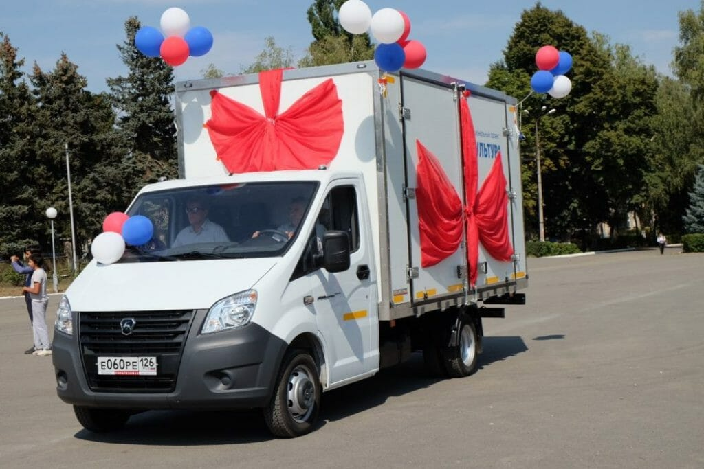 В конце июля в Козельский район приедет современный автоклуб