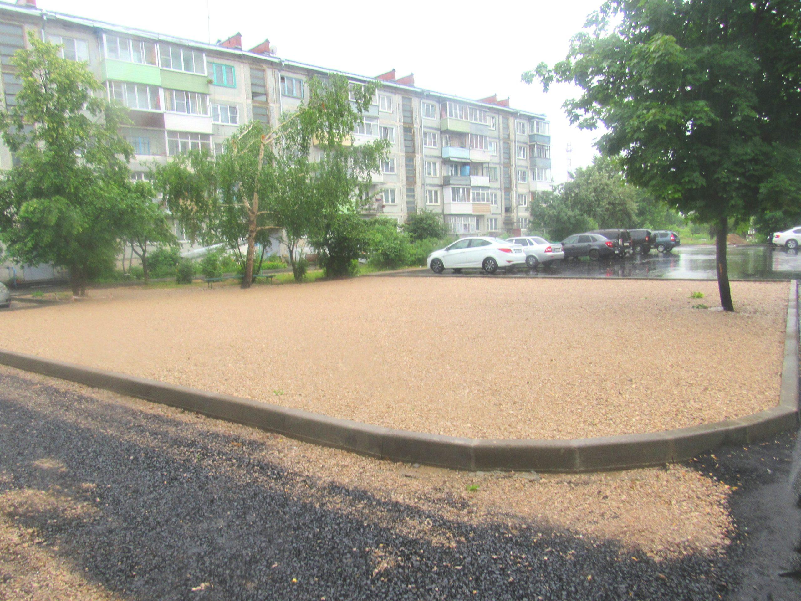 В Козельске появятся две новые детские площадки