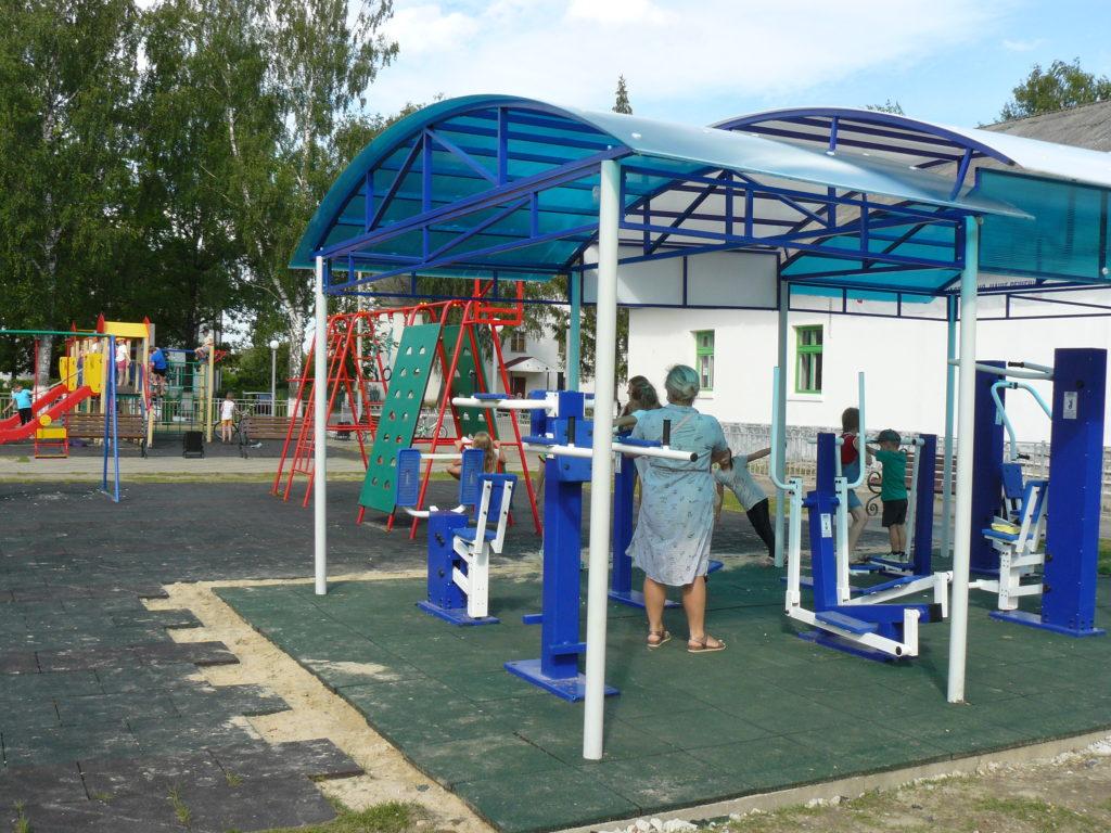Ещё на один спортивный объект в городе Сосенском стало больше