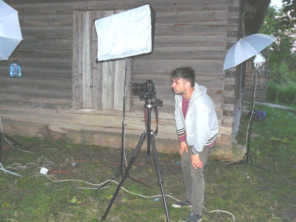 """""""Ночь на площадке, начали!"""" Козельские театралы снимают фильм по проекту нашей газеты"""