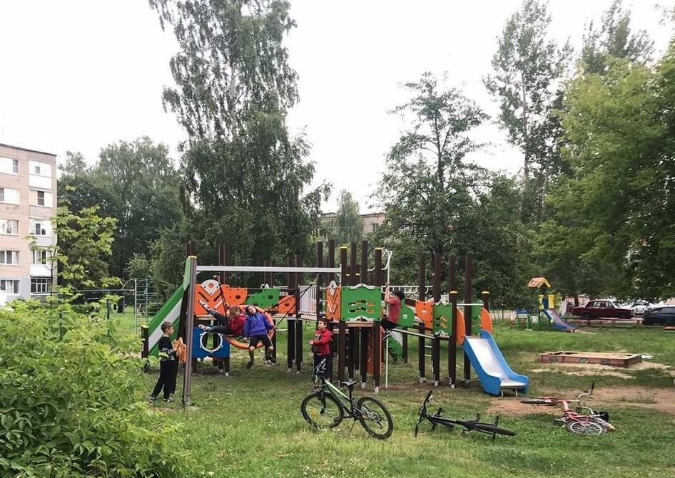 В Сосенском появится еще одна детская площадка