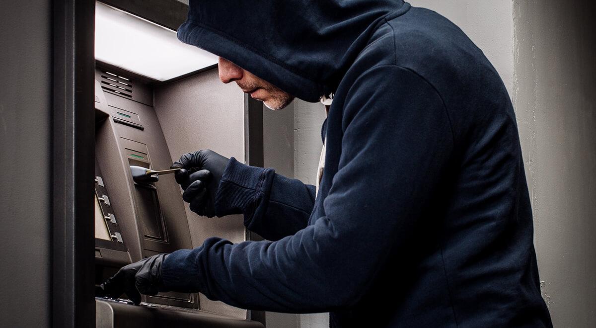 кража денег из банкомата