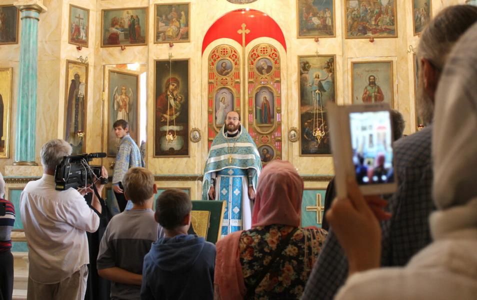 В селе Нижние Прыски открыли мемориальную комнату протоиерея Леонития Никифорова