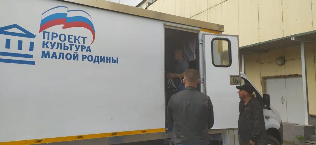 В Козельск приехал автоклуб. Увидеть его в действии можно будет уже на следующей неделе