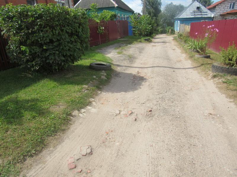 Жители козельских переулков Буканова и Суворова, кажется, дождались дорожного ремонта