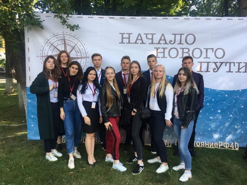В Калуге сегодня поздравили медалистов области