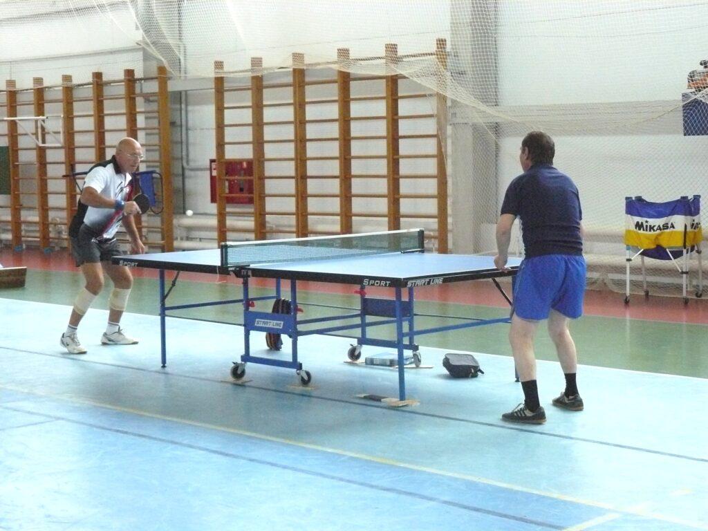 В ФОКе проходит открытый турнир по настольному теннису