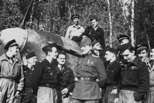 Николай Андреев о том, что связывало Подборки с эскадрильей «Нормандия-Неман»