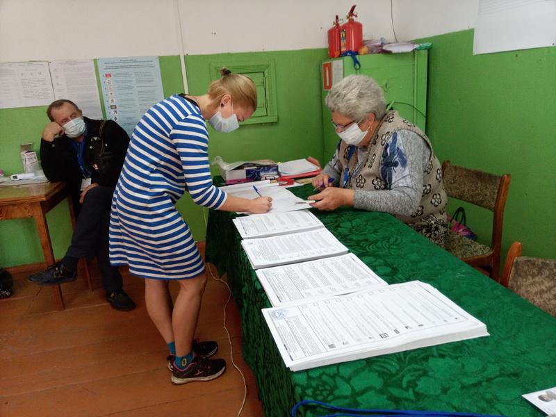 Голосование в Бурнашево
