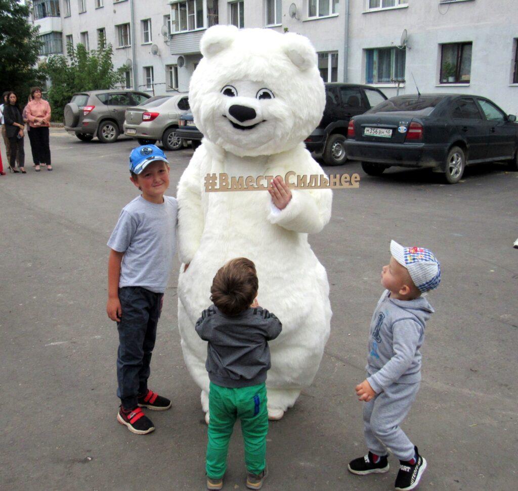 Фото медвежонка готье