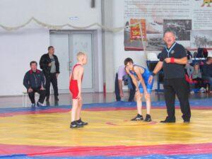 В Козельске  прошли областные юношеские соревнования по вольной борьбе
