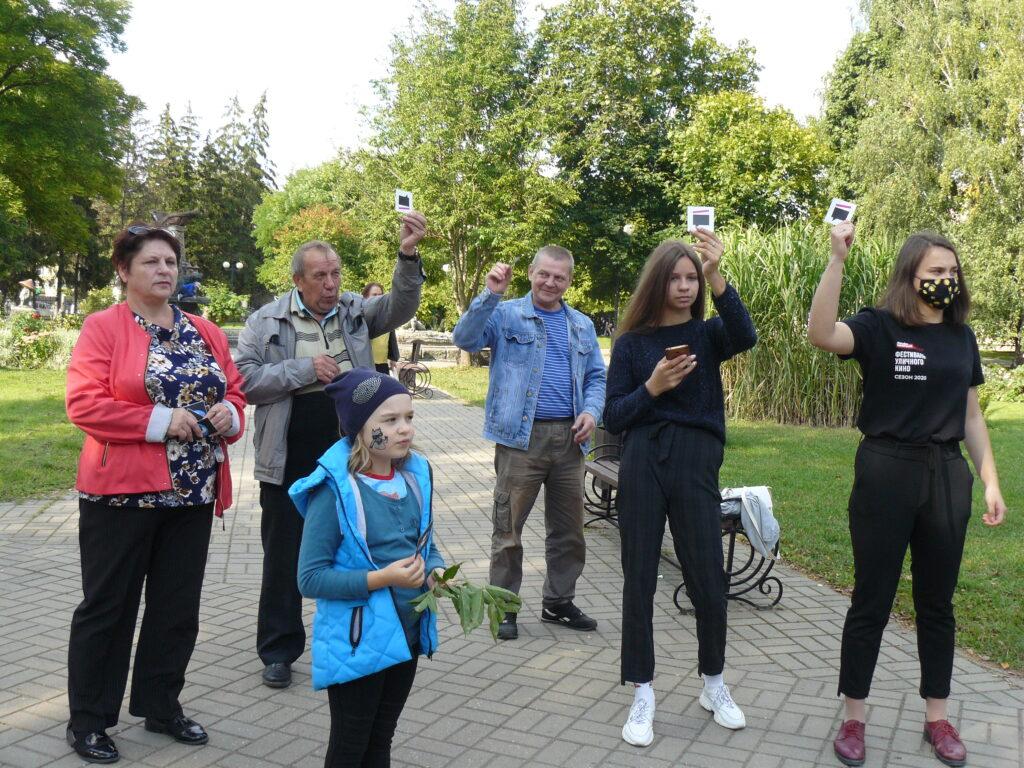 В Козельске прошел один из этапов VII Всероссийского фестиваля уличного кино