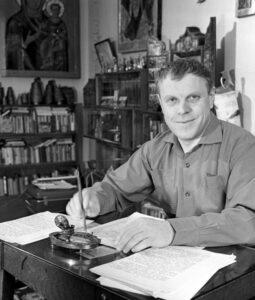 Первопроходцы — 2. Николай Андреев вспоминает приезд писателя Владимир Солоухина в Козельск